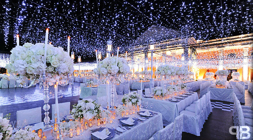 Ideas To Decorate Your Wedding Venue Using Fairy Lights And Have A