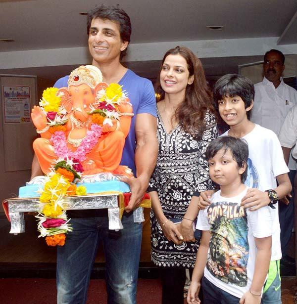 Bollywood Actor Sonu Sood and His Wife Sonali's Love Story