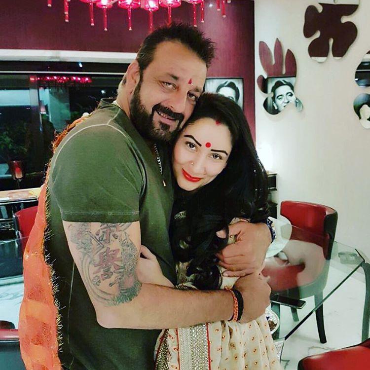 Sanjay Dutt Wishes Wife, Maanyata Dutt On Their 12th Wedding ...
