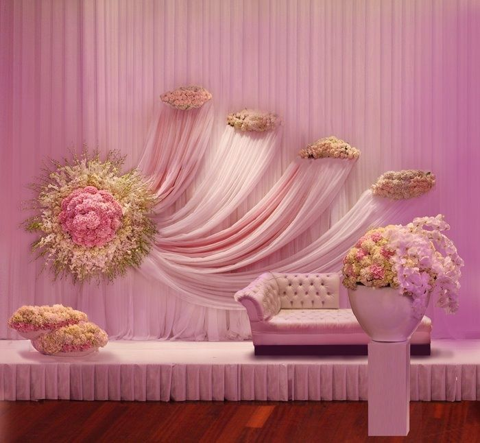 15 Stunning Floral Backdrops For Perfect Wedding Pictures