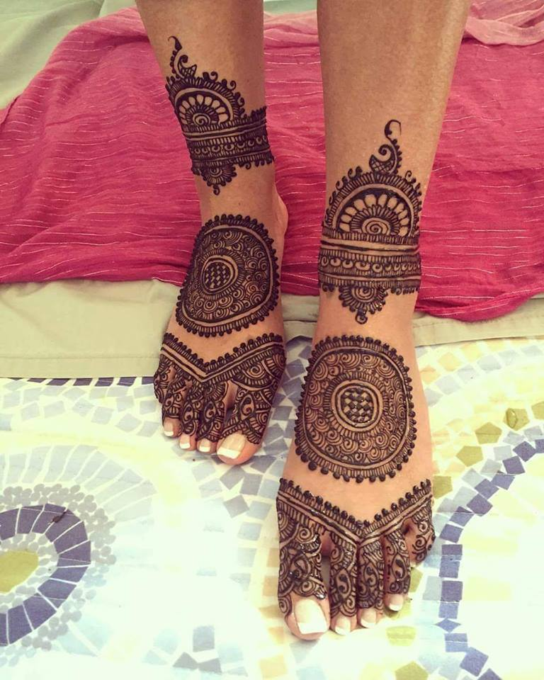 Dear Bride,To,Be, Here\u0027re Unique And Creative Bridal Mehendi