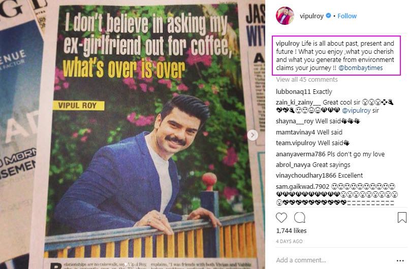 Yuvika Chaudhary's Ex-BF Vipul Roy Opens Up On His Previous