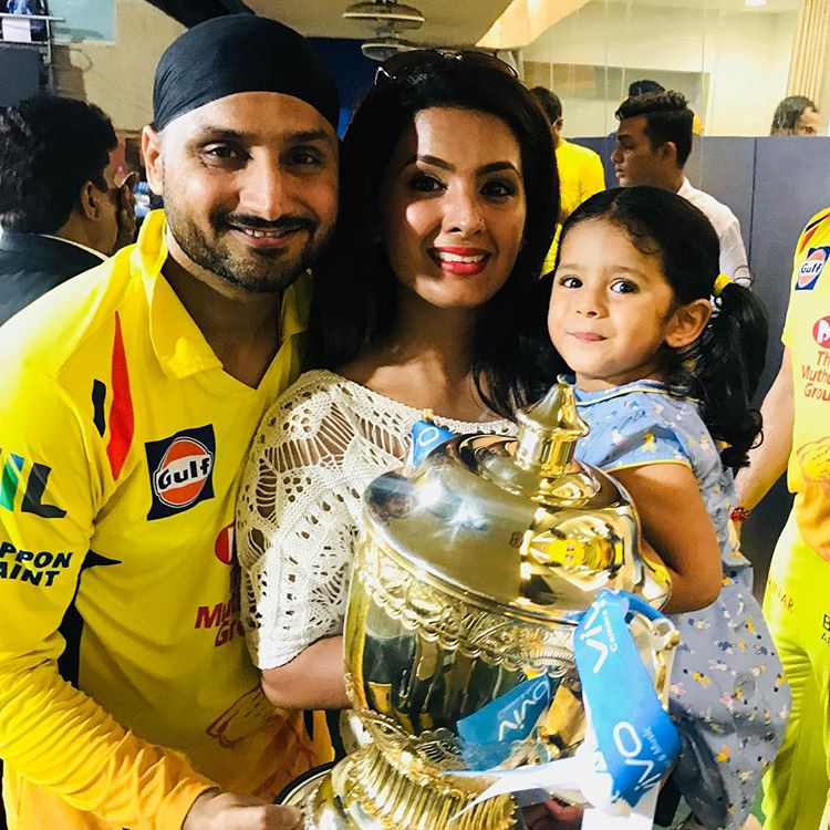 Harbhajan Singh And Geeta Basra's Daughter Hinaya Turned Two