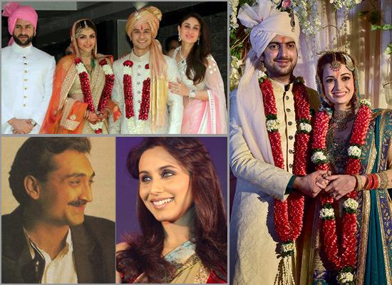 13 Famous Bollywood Couples Who Are Celebrating Their First