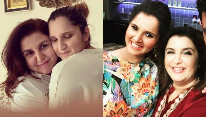 Newbie Mom Sania Mirza's Best Friend Farah Khan Visits Her