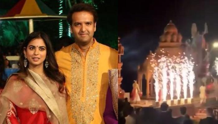 Isha Ambani And Anand Piramals Pre Wedding Ceremony Begins