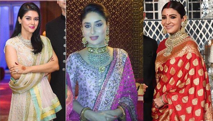 1ef13a5ff15f 19 Bollywood Brides That Dressed Like Million Bucks On Their Wedding  Reception