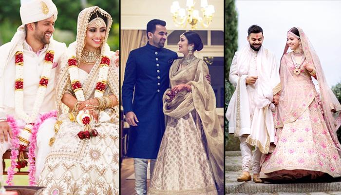 25 Bollywood Celebs' Stunning Wedding Pictures Shared By
