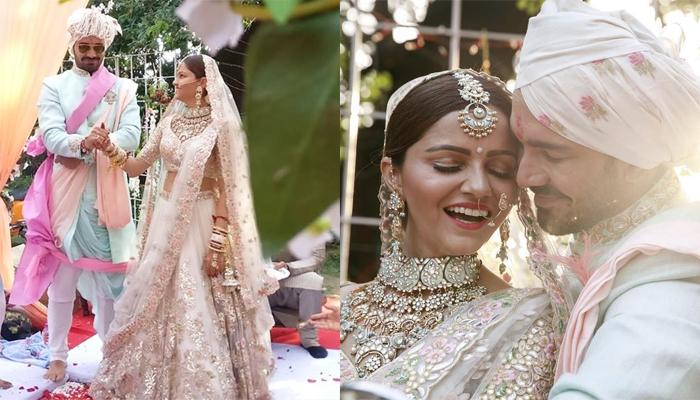 Unseen Picture Of Rubina And Abhinav From Their Wedding
