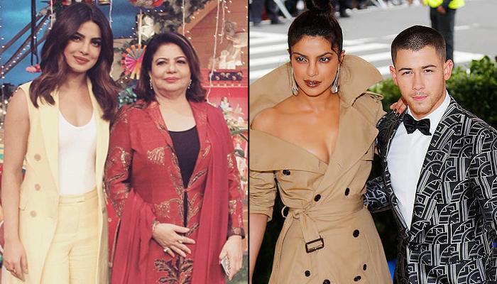 After Meeting Nick Jonas Priyanka Chopra S Mom Madhu Reacts To
