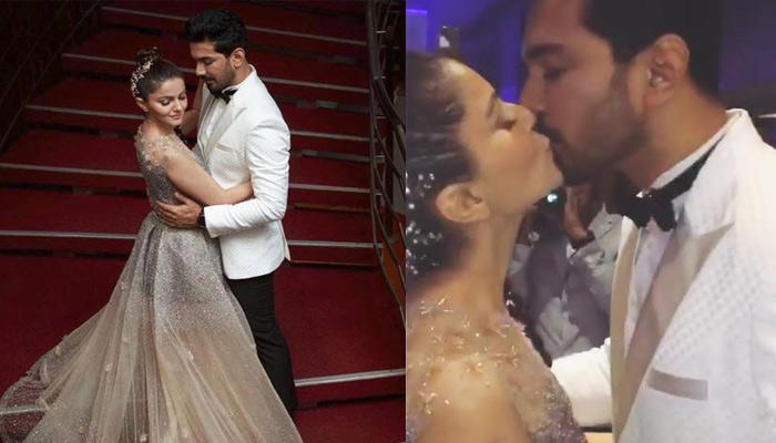 Rubina Dilaik And Abhinav Shukla's Passionate Kiss After