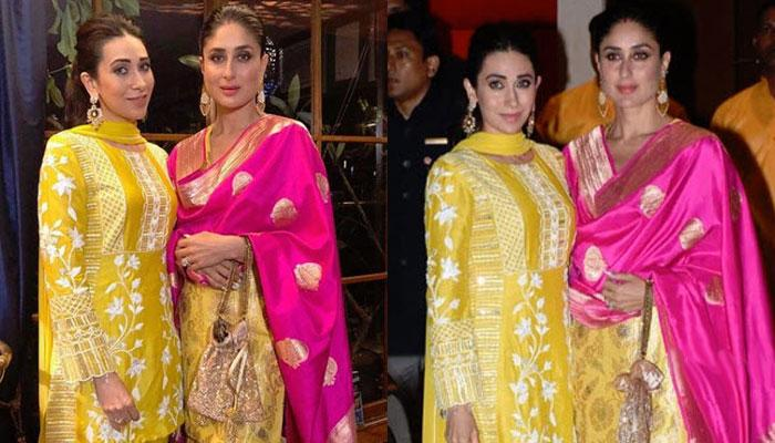Mom-to-be Kareena Kapoor twins with Karisma Kapoor, fans call them 'cutest sisters'