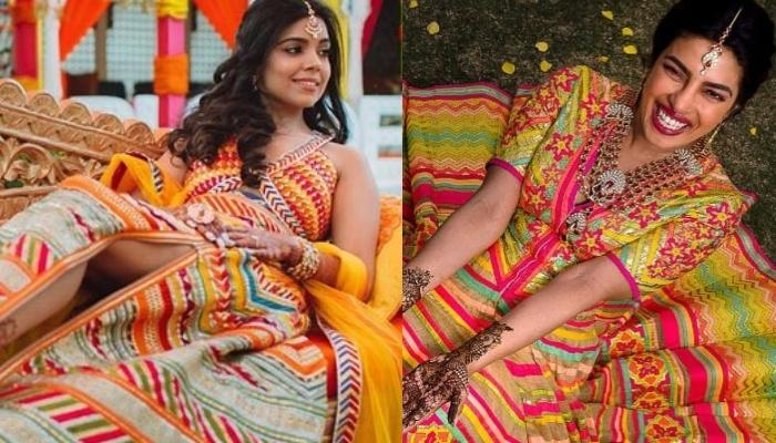 This Bride Wore A Lehenga Similar To Priyanka Chopra S Mehendi