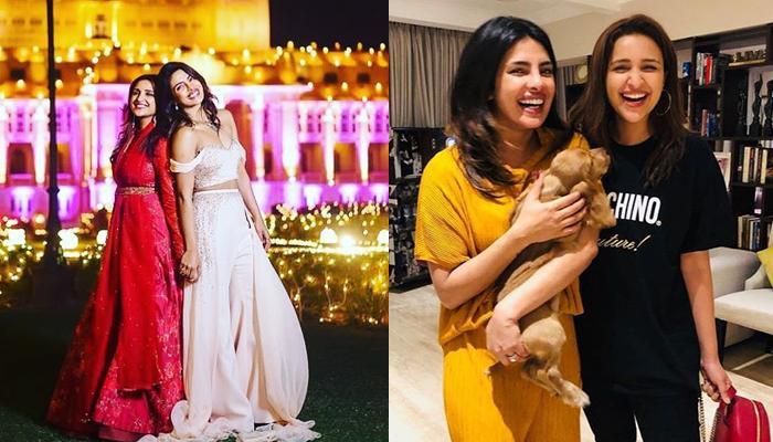Priyanka Chopra Jonas And Parineeti Chopra Enjoy Sisterly Madness