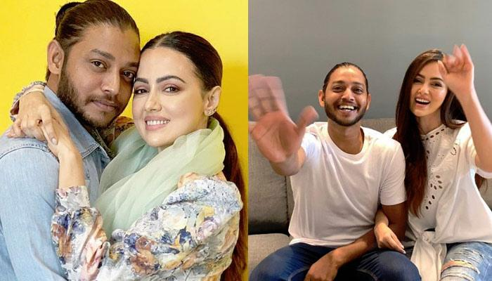 Melvin Louis Sana Khan S Debut On Stage First Time After Making Relationship Official Pics Inside