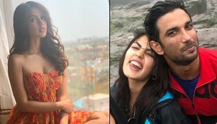 Rhea Chakraborty Celebrates Birthday With Alleged BF Sushant Singh ...