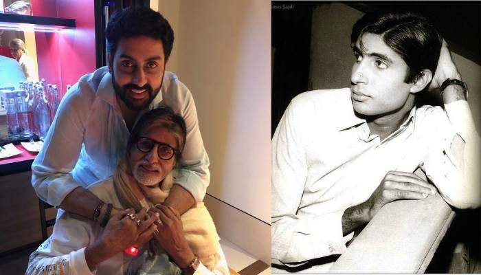 अभिषेक बच्चन ने बिग बी के बचपन की अनदेखी तस्वीर शेयर कर दी जन्मदिन की बधाई, लिखा- 'लव यू पा'