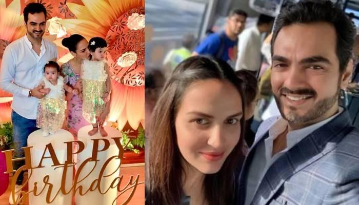 ईशा देओल ने पति भरत तख्तानी को दी जन्मदिन की बधाई, लिखा- 'राध्या-मिराया के पापा को हैप्पी बर्थडे'