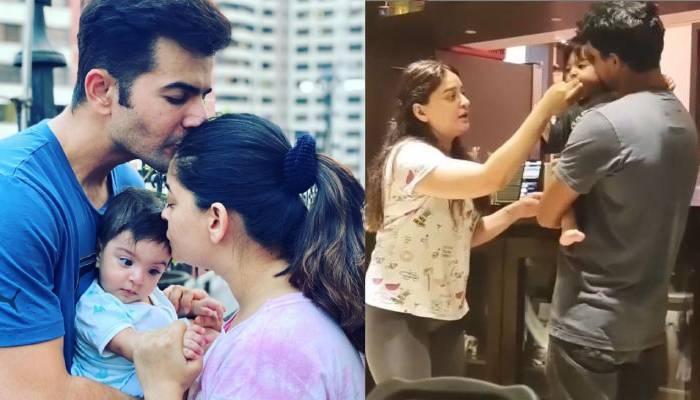 बेटी तारा को खाना खिलाने के लिए माही विज को करना पड़ता है डांस, पति ने शेयर किया वीडियो