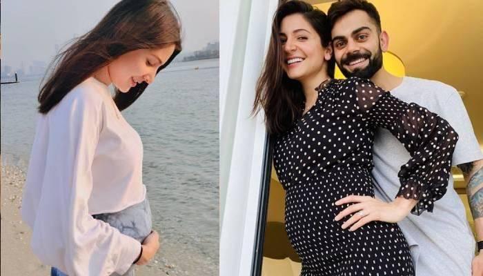 अनुष्का शर्मा ने शेयर की बेबी बंप की नई तस्वीरें, चेहरे पर साफ नजर आ रहा प्रेग्रेंसी ग्लो