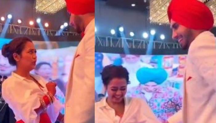 नेहा कक्कड़ की सगन सेरेमनी का वीडियो आया सामने, 'नेहू दा व्याह' सॉन्ग पर जमकर नाचा कपल