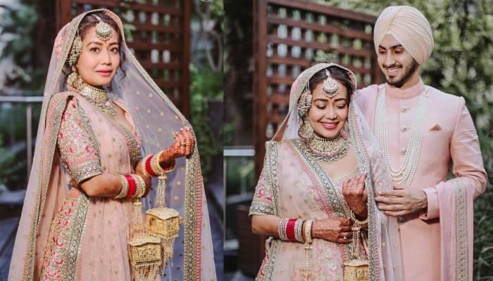 नेहा कक्कड़ की शादी की अनदेखी तस्वीरें आईं सामने, देखें क्या गजब कहर ढा रहा है कपल