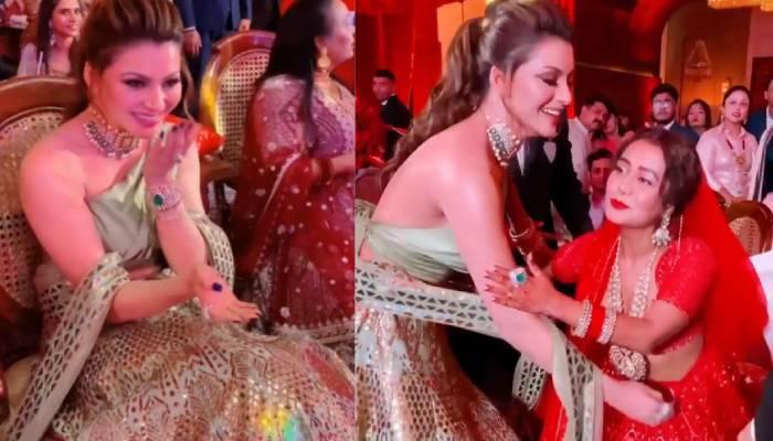 55 लाख का लहंगा पहनकर नेहा कक्कड़ की शादी में पहुंची थीं उर्वशी रौतेला, जानें खासियत