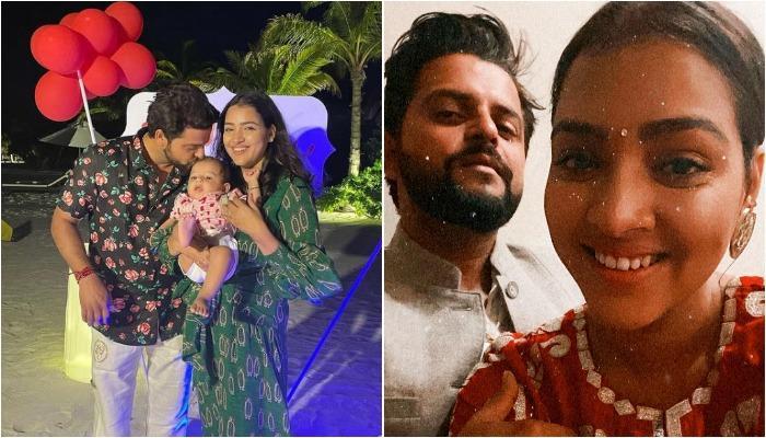 सुरेश रैना ने फैमिली संग मालदीव में मनाया अपना 34वां बर्थडे, देखें सेलिब्रेशन की तस्वीरें