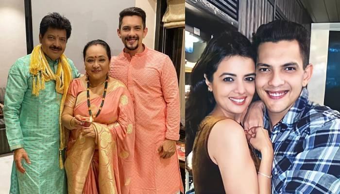 आदित्य नारायण के घर शादी की रस्में हुईं शुरू, तिलक सेरेमनी में ऐसे दिखीं होने वाली दुल्हन श्वेता