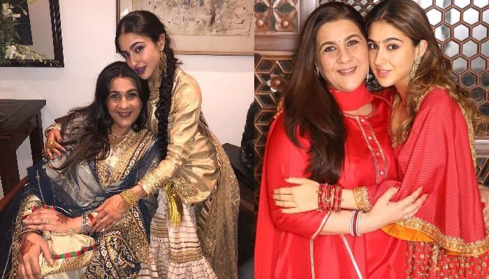 5 ऐसे मौके जब सारा अली खान ने की मां अमृता के साथ ट्विनिंग, फोटो में सुपर लग रही है मां-बेटी की जोड़ी
