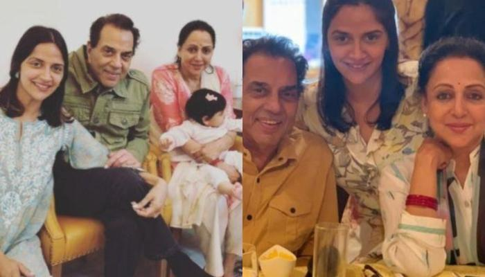चौथी बार नानी बनने पर बोलीं हेमा मालिनी-'पति धर्मेंद्र ने नहीं देखे हैं अपने जुड़वा नातियों के चेहरे'