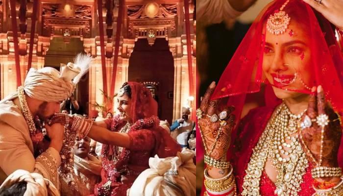 प्रियंका चोपड़ा और निक जोनस की शादी की अनदेखी तस्वीरें, मैरिज एनिवर्सरी पर कपल ने की हैं शेयर