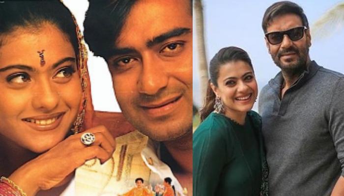 अजय देवगन और काजोल की रील और रियल लाइफ को हुए 22 साल, एक्टर ने कहा- 'प्यार तो होना ही था'
