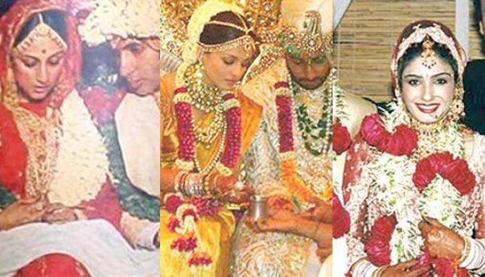 24 Bollywood Divas From All The Eras And Their Wedding Day Bridal Looks