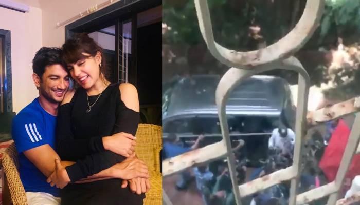 रिया चक्रवर्ती ने शेयर किया अपने घर का वीडियो, बोली- 'मुझे और मेरे परिवार की जान को खतरा है...'
