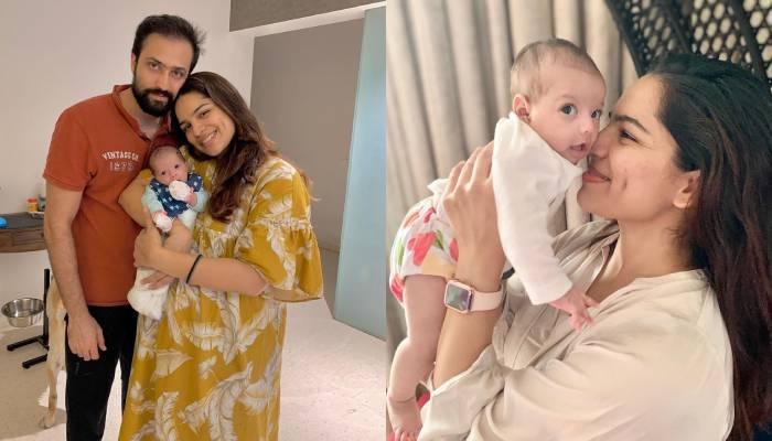शिखा सिंह ने शेयर की अपनी बेटी से पहली मुलाकात की तस्वीर, लिखा- 'नि:शब्द'