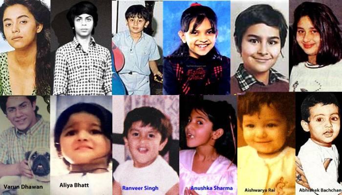 रणवीर से लेकर दीपिका तक, यहां देखिए बॉलीवुड के इन 12 स्टार्स की बचपन की ये क्यूट फोटो