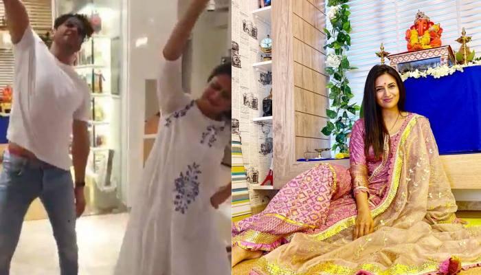 'गणपति बप्पा' की विदाई पर पति विवेद दहिया संग जमकर नाची दिव्यांका त्रिपाठी, देखें वीडियो