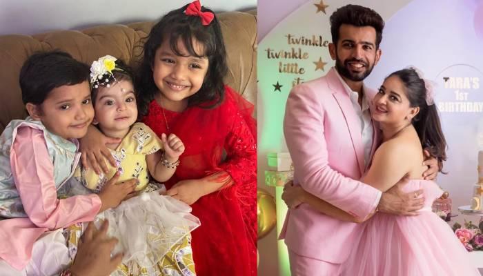माही विज ने शेयर किया बेटे राजवीर और बेटी तारा का इमोशनल वीडियो, दोनों हो रहे हैं एक-दूसरे से अलग!