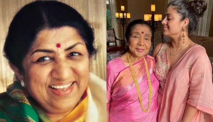 आशा भोसले के 87वें बर्थडे पर बहन लता मंगेशकर ने दी बधाई, गायिका ने फैमिली के साथ ऐसे मनाया जन्मदिन