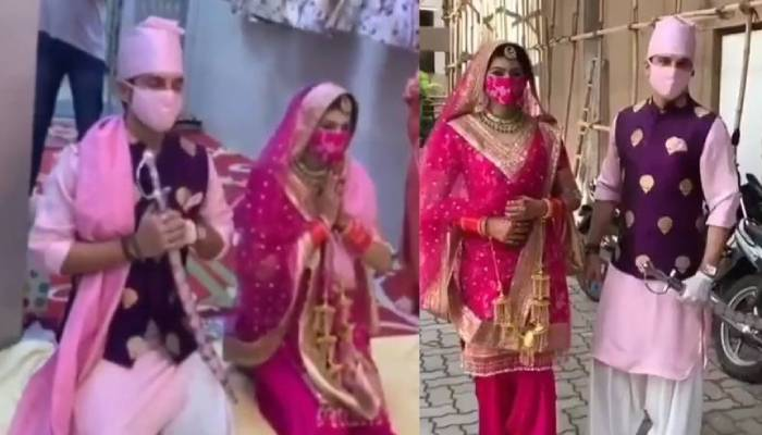 टीवी एक्टर मनीष रायसिंघन और एक्ट्रेस संगीता चौहान ने रचाई शादी, देखें वीडियोज