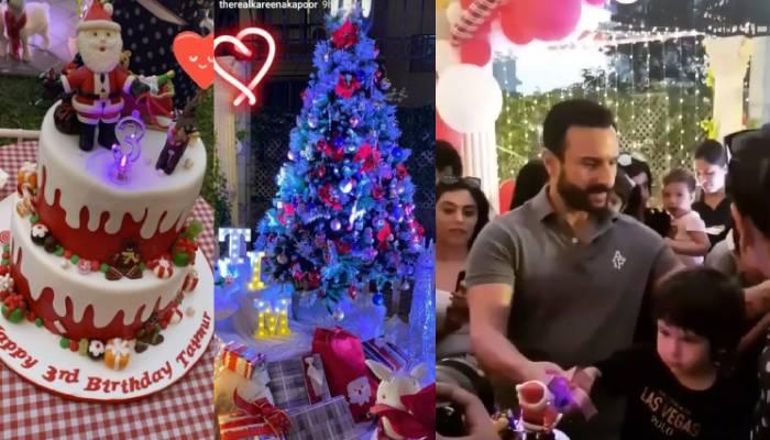 तैमूर अली खान ने कुछ इस तरह मनाया अपना जन्मदिन, देखिए बर्थडे पार्टी से जुड़ी कुछ अनदेखी तस्वीरें