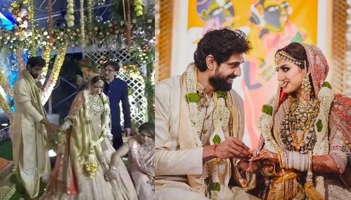 एक-दूजे के हुए राणा डग्गुबती और मिहिका बजाज, यहां देखें शादी की अनदेखी तस्वीरें