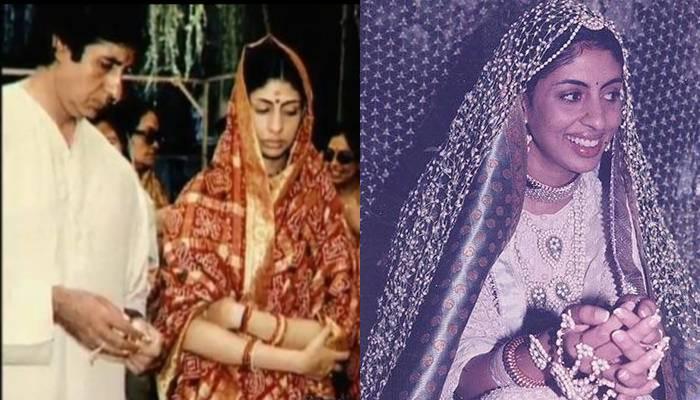 Shweta Bachchan Nanda Birthday: जब अमिताभ बच्चन बेटी की विदाई पर हुए भावुक, सामने आईं अनदेखी फोटोज