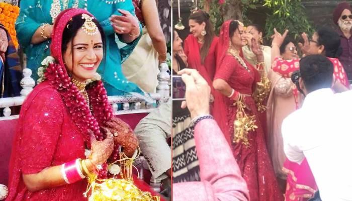 मोना सिंह बनीं दुल्हन, लाल जोड़ा पहन पति संग दिखीं बेहद खूबसूरत, यहां देखिए शादी की अनदेखी तस्वीरें