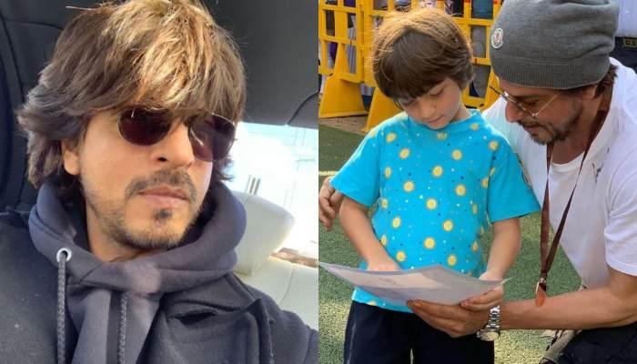 शाहरुख खान के बेटे अबराम ने किया घर का नाम रोशन, देखिए कैसे खुशी से फूले नजर आए किंग खान