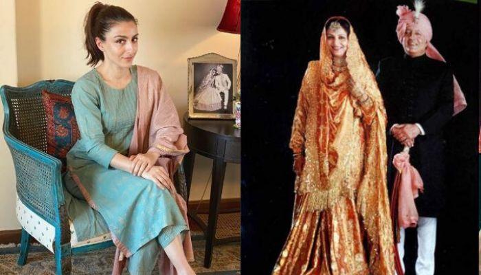 सोहा अली खान ने शेयर की माता-पिता की ये अनदेखी फोटो, फैंस को आ रही है खूब पसंद