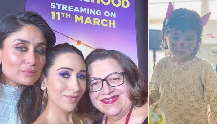 तैमूर अली खान ने अपनी मॉम करीना कपूर को विश किया मदर्स डे, करिश्मा ने शेयर की ये फोटो