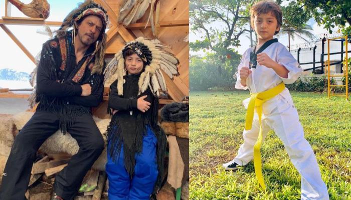 एक बार फिर पिता शाहरुख खान को गर्व महसूस कराते दिखे बेटे अबराम, देखिए कैसे किया उनका नाम रोशन