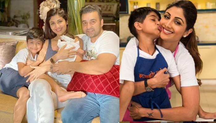 मम्मी शिल्पा शेट्टी के पैर का मसाज कर रहे हैं 'छोटे कुंद्रा' वियान साहब, यहां देखें मजेदार वीडियो